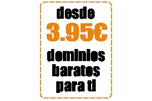 dominios baratos