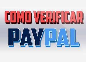 verificar una cuenta paypal